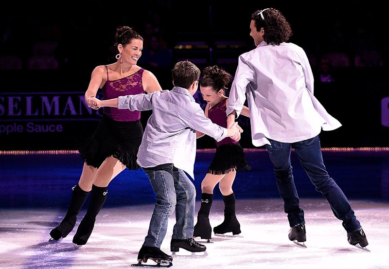 Nancy Kerrigan: My Kids Aren't Impressed With My Olympic Medals!