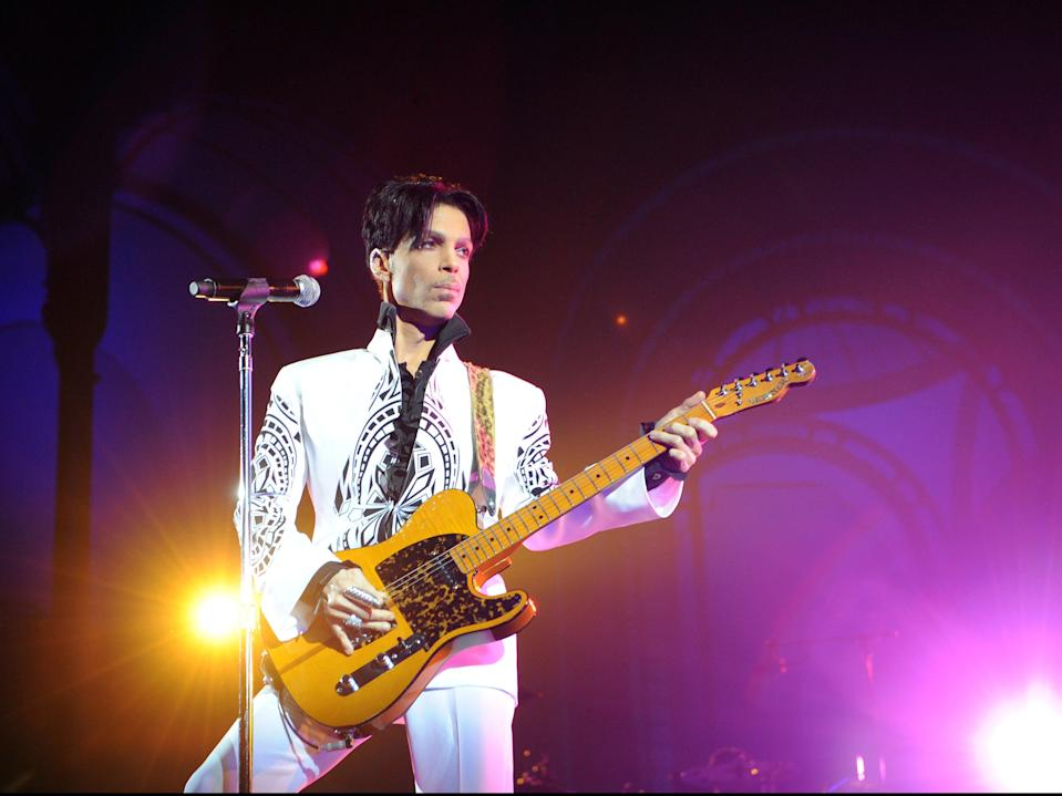 Prince performing in 2011 (AFP/Getty)