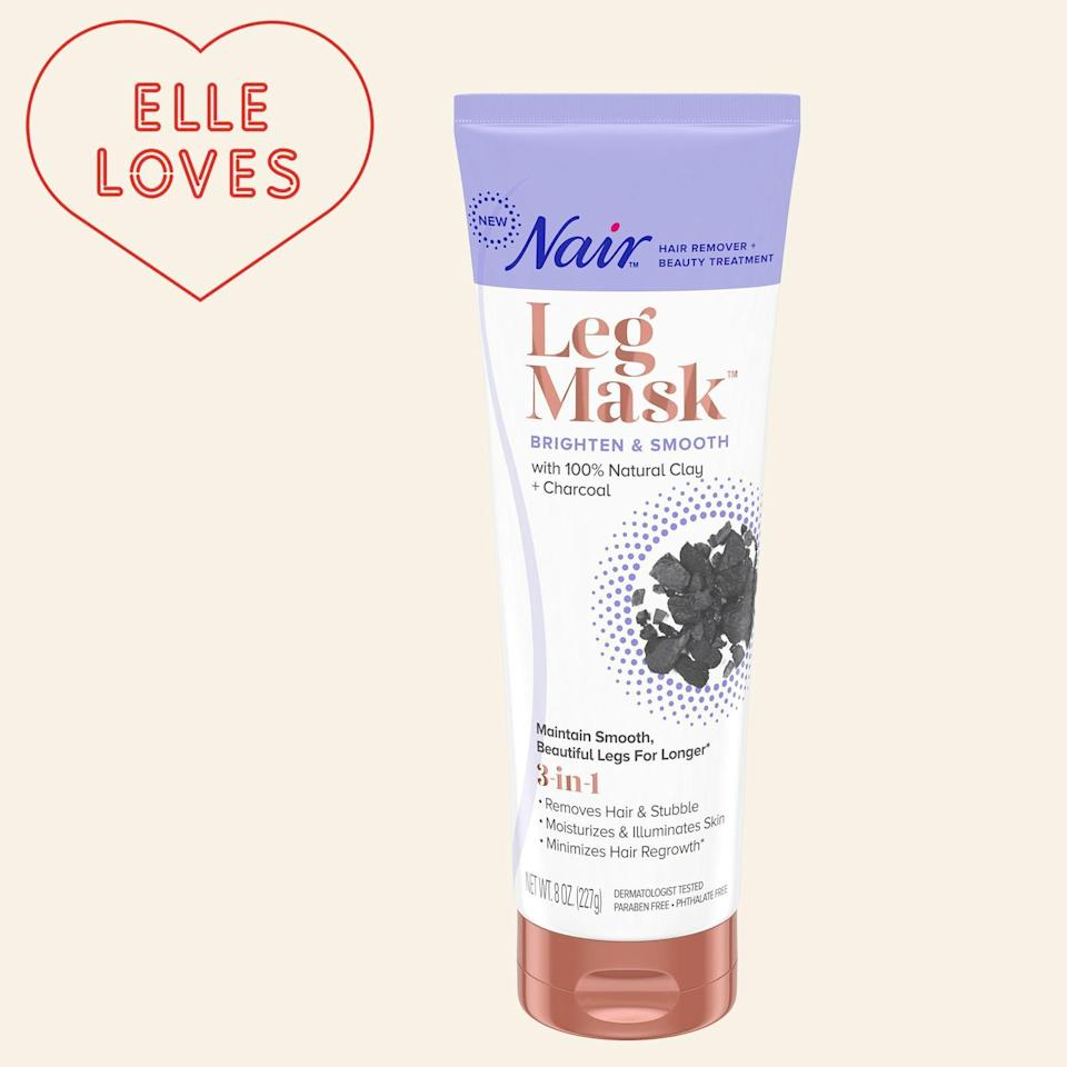 """<p><strong>Nair</strong></p><p>ulta.com</p><p><strong>$11.99</strong></p><p><a href=""""https://go.redirectingat.com?id=74968X1596630&url=https%3A%2F%2Fwww.ulta.com%2Fcharcoal-brighten-smooth-leg-mask%3FproductId%3Dpimprod2005877&sref=https%3A%2F%2Fwww.elle.com%2Ffashion%2Fshopping%2Fg33078428%2Fbest-elle-editor-product-reviews%2F"""" rel=""""nofollow noopener"""" target=""""_blank"""" data-ylk=""""slk:Shop Now"""" class=""""link rapid-noclick-resp"""">Shop Now</a></p><p>""""Recently, a TV ad spot for <a href=""""https://www.elle.com/beauty/makeup-skin-care/a28008692/nair-leg-mask-review/"""" rel=""""nofollow noopener"""" target=""""_blank"""" data-ylk=""""slk:Nair's new leg mask and hair removal product"""" class=""""link rapid-noclick-resp"""">Nair's new leg mask and hair removal product</a> got me hook, line, and sinker. It made the pretty stellar point that we spend so much time and money on masks for our faces, but ignore the more extensive expanse of skin on our hard-working legs. What about taking care of them? Anyway, I figured I'd give it a try. Though I've been tricked by ads that over promise and under deliver plenty of times before, I'm always down to try a new product and happy to report this one did not disappoint."""" —<em> Leah Melby Clinton, director of branded editorial strategy </em></p>"""