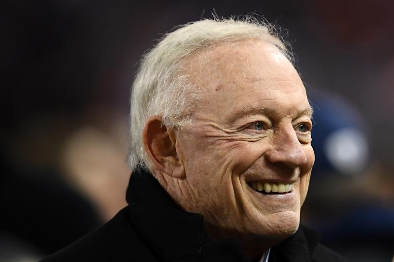 Once you go to Jerry Jones' house, you don't get out. (Photo by Stacy Revere/Getty Images)