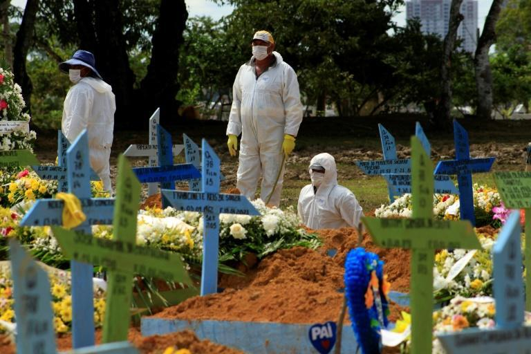 Brazil has recorded more than 218,000 coronavirus deaths -- a toll second only to that of the United States