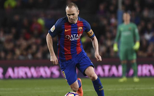 <span>Andres Iniesta is one of the greatest midfielders of all time</span>