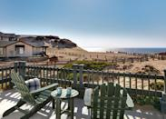 "<p><strong>What's arrival like here?</strong><br> This classic, though renovated, resort sits atop the windswept sand dunes of Monterey Bay's coastline, and it neighbor is the National Marine Sanctuary. It feels timeless, and a million miles away, though it's a quick drive to downtown Monterey.</p> <p><strong>What's the crowd like?</strong><br> Expect families with packs of little kids, but also couple—it can as intimate and romantic as you please.</p> <p><strong>The good stuff: Tell us about the rooms.</strong><br> The beach bungalows offer panoramic views of the Pacific and salty ocean air drifting right into your room. You can't get any closer to sleeping on the beach than this. Request one of the few second-story rooms with a terrace, for a lighthouse-like point of view of the coastline.</p> <p><strong>We're craving some deep, restorative sleep. They got us?</strong><br> Harbor Linen's soft Monocle Collection tops the beds, making it even easier to fall asleep to the sounds of the waves crashing outside the window.</p> <p><strong>How about the little things, like mini bar, or shower goodies. Any of that find its way into your suitcase?</strong><br> If we could steal the view, we would. Instead, Instagramming it will just have to do. Watching the sunset, and keeping an eye out for migrating whales, while inside next to a fireplace is definitely something to write home about.</p> <p><strong>Please tell us the bathroom won't let us down.</strong><br> The bathrooms are basic, but perks like L'Occitane products and plush Harbor Linen bathrobes give them a boost.</p> <p><strong>Maybe the most important topic of all: Wi-Fi. What's the word?</strong><br> Wi-Fi is complimentary for guests, and decent throughout the resort.</p> <p><strong>What should we look forward to as far as food goes?</strong><br> Do not miss the morning breakfast basket, packed with homemade quiche, cereal, fresh juice, pastries, and coffee (request mimosas for an additional price). The best way to enjoy it? In bed—or on the beach.</p> <p><strong>Staff: If you could award one a trophy, who gets it, and why?</strong><br> The golf cart valet for tirelessly shuttling guests around the resort.</p> <p><strong>Anything stand out about other services and features?</strong><br> The beach is the centerpiece of the resort. Go at sunset, and relax by the fire pits. The restaurant, <a href=""https://www.cntraveler.com/restaurants/marina/salt-wood-kitchen-and-oysterette?mbid=synd_yahoo_rss"" rel=""nofollow noopener"" target=""_blank"" data-ylk=""slk:Salt Wood Kitchen and Oysterette,"" class=""link rapid-noclick-resp"">Salt Wood Kitchen and Oysterette,</a> is one of the best in all of Monterey.</p> <p><strong>What was most memorable about your stay?</strong><br> Watching the sunrise and sunset at the beach—without crowds!</p> <p><strong>Bottom line: Why are we choosing Sanctuary Beach?</strong><br> Because the reasonably priced rooms will score you million-dollar views.</p>"