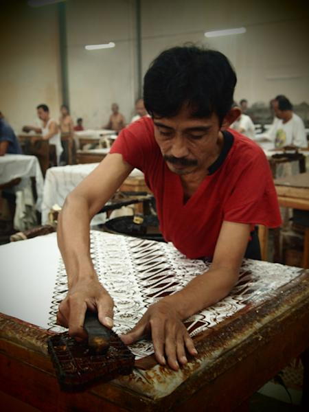 Visiting the Batik dynasty in Surakarta