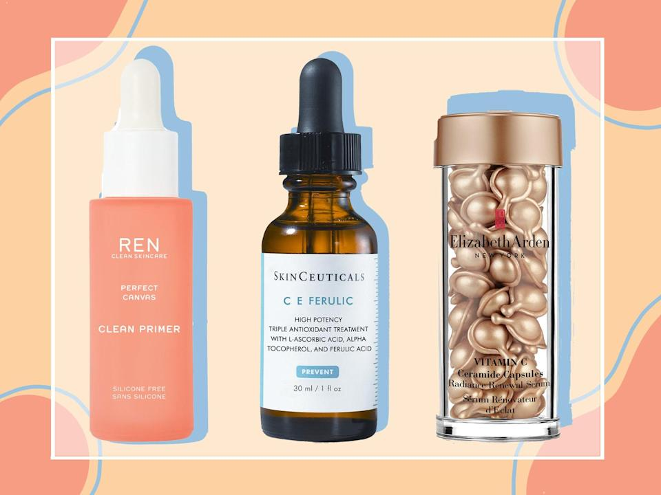 Choose between serums, creams, cleansers and moisturisers (The Independent)