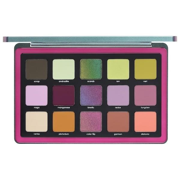 <p>The center shadows in this <span>Natasha Denona Triochrome Eyeshadow Palette</span> ($129) are multi-chrome choices and they're surrounded by complementary tones for creative inspiration.</p>