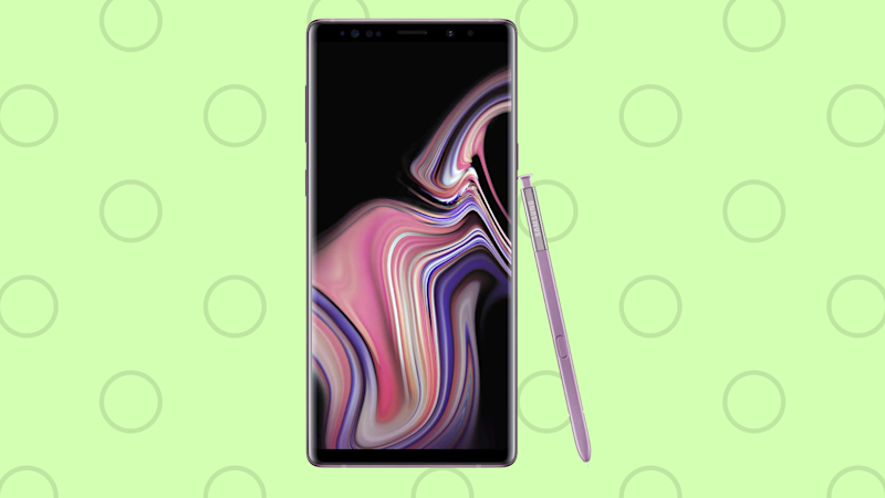 Ahorra 500 dólares en esta superoferta de Amazon.com en el Samsung Galaxy Note 9. (Photo: Samsung)
