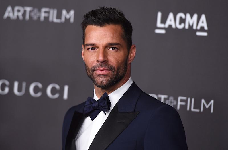 """Latin Grammys co-host Ricky Martin will perform his latest song """"Cantalo"""" with Residente and Bad Bunny at Thursday's show."""
