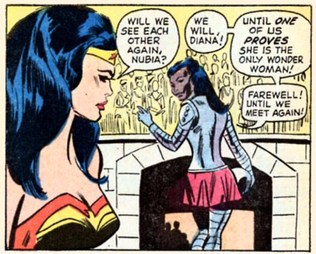 Wonder Woman and Nubia in the comics (Image: DC Comics)