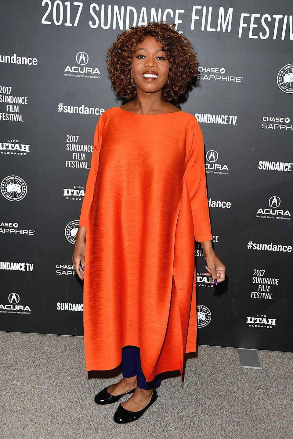 <p>The actress appears in the drama 'Burning Sands,' which premiered Jan. 24. (Photo: George Pimentel/Getty Images) </p>
