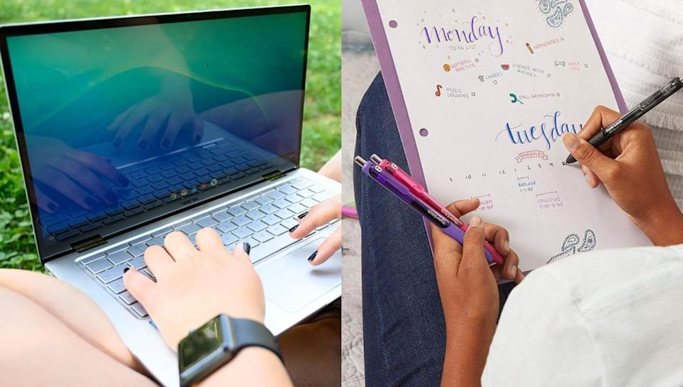 Online shopping is a go-to for back-to-school supplies and clothes again this year.