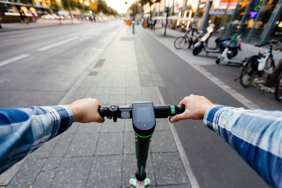 E-scooters were made legal this July - getty