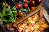 "<p>A gigantic tray of truly Italian lasagna is a must in many Ohio households throughout the holidays. It doesn't get much better than that. </p><p>Get the <a href=""https://www.delish.com/cooking/recipe-ideas/recipes/a51337/classic-lasagna-recipe/"" rel=""nofollow noopener"" target=""_blank"" data-ylk=""slk:recipe"" class=""link rapid-noclick-resp"">recipe</a>.</p>"