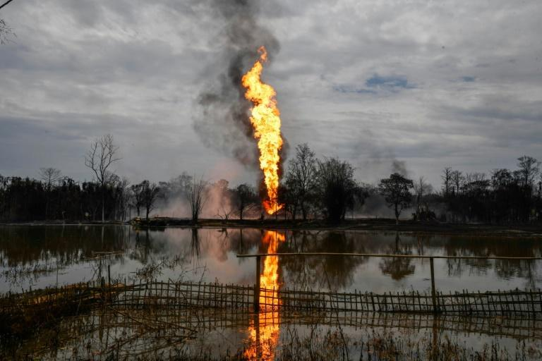 Oil India engineers had battled the blaze in Assam state since an explosion in June