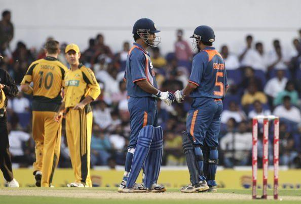 M.S. Dhoni who remained unbeaten on 91 along with the left-hander laid the foundation for the win.