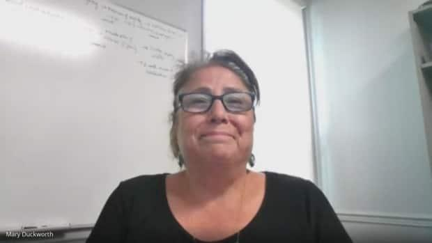 Mary Duckworth, former chief of Caldwell First Nation, says she's thrilled with the decision of a judicial review that directs the southwestern Ontario council to redetermine whether to remove Duckworth as chief. (Jennifer La Grassa/CBC - image credit)