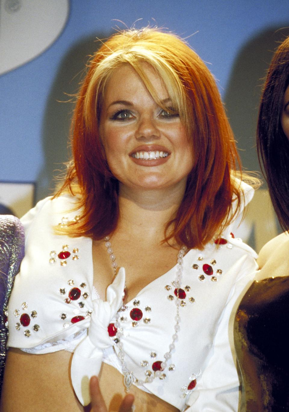 THEN: Spice Girls singer Geri Halliwell at the 1997 Billboard Music Awards. (Photo by Chris Walter/WireImage)
