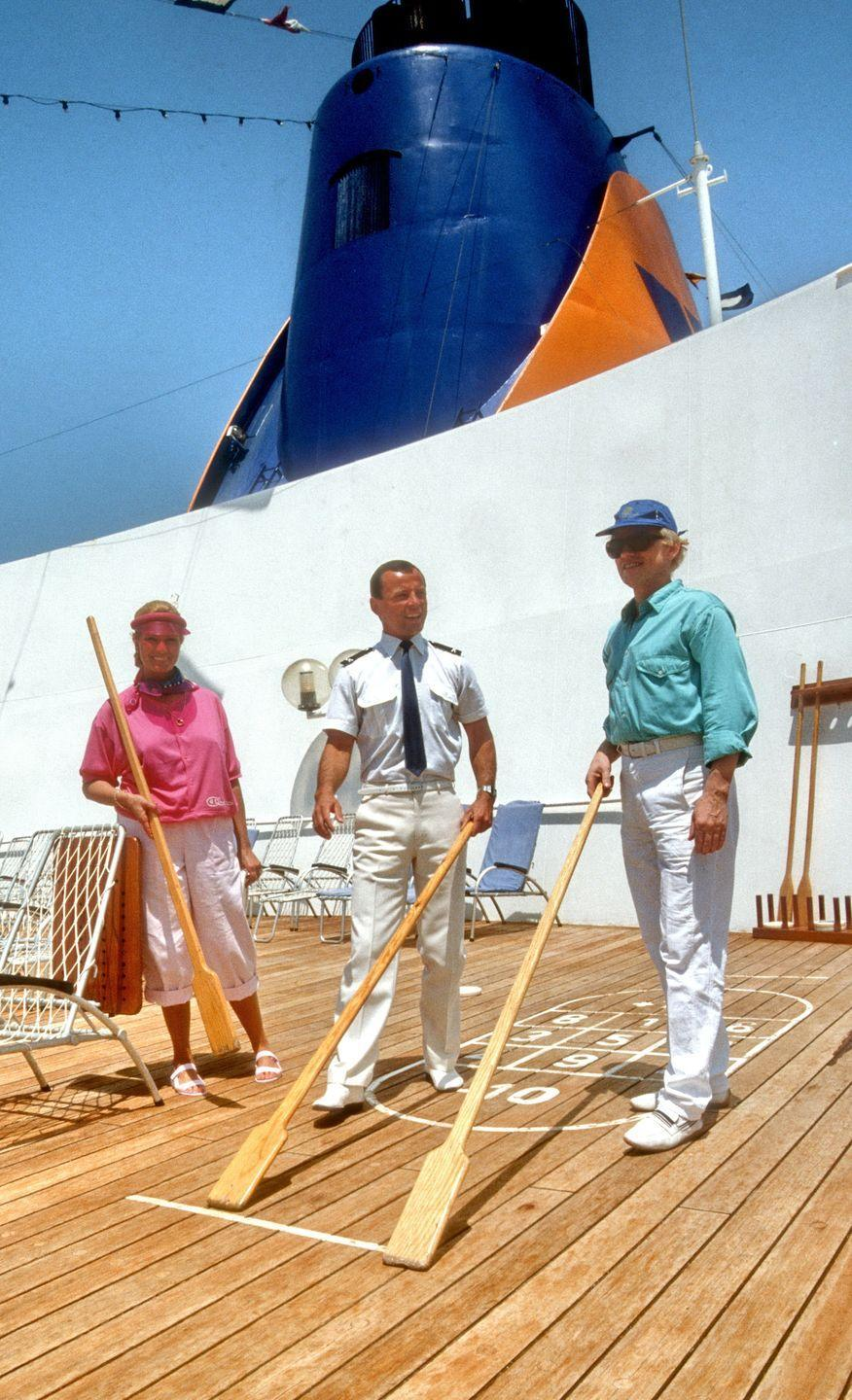 <p>Another '80s travel trend that was taking the world by storm was getting on a cruise. Cruise ships during these times saw sales rise exponentially. </p>
