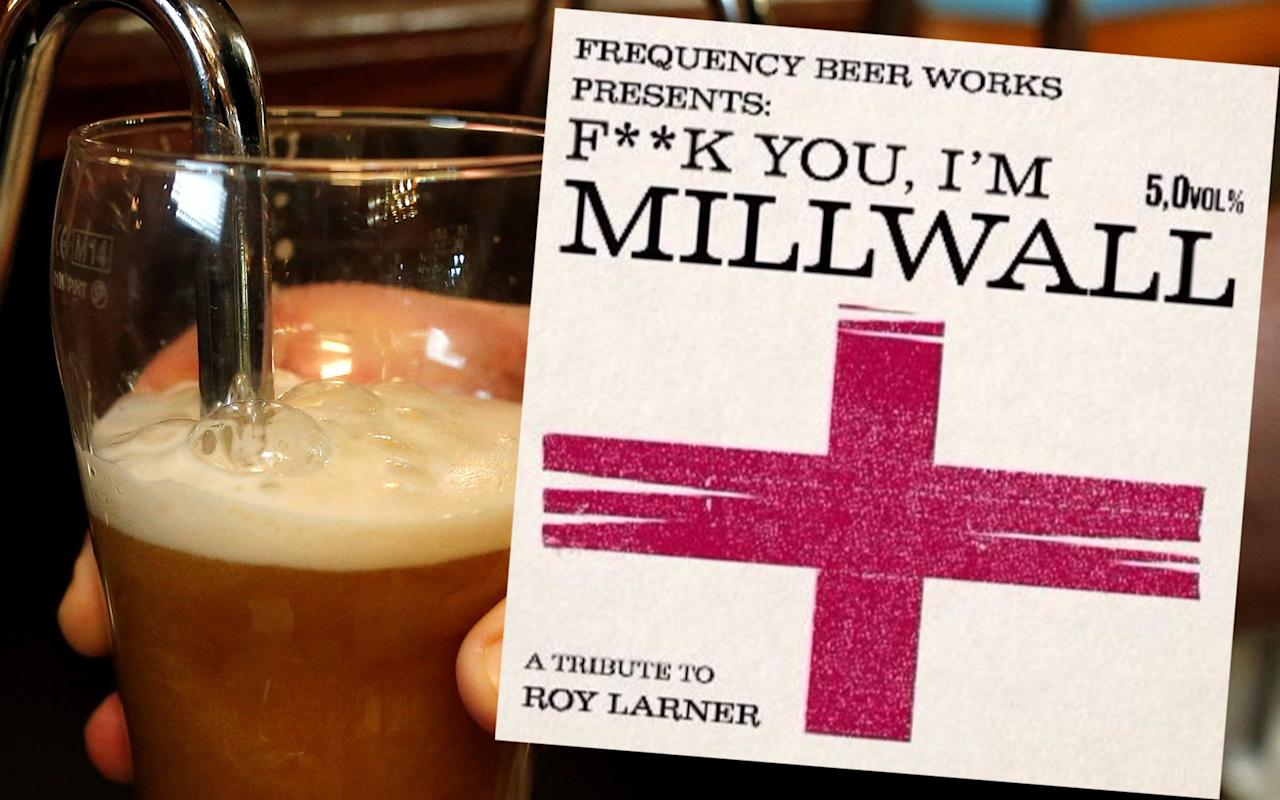 Brewery creates 'F*** you, I'm Millwall' beer in honour of man who took on London Bridge attackers