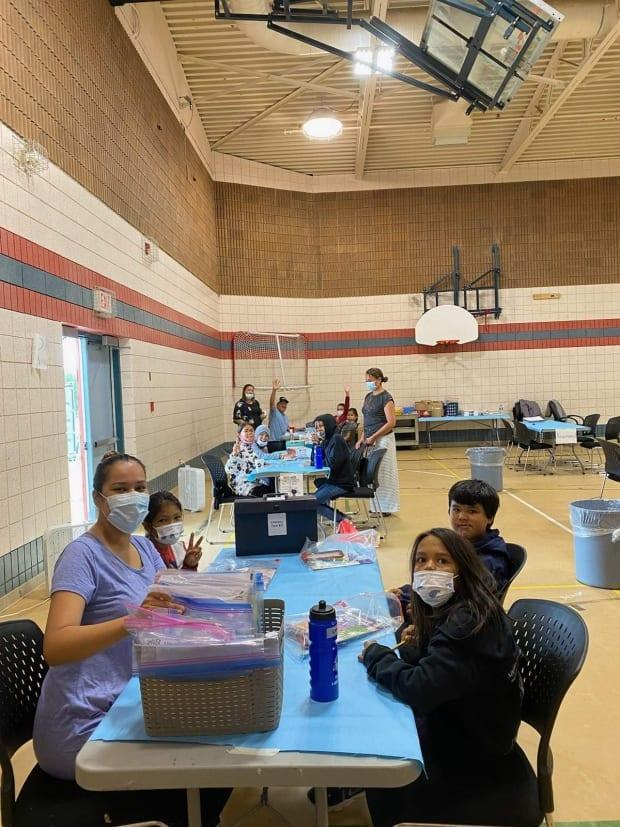 About 14 youth per day participated in a literacy camp at the Big River First Nation. Organizer Mavis Whitefish-Dreaver says she used a variety of different activities and strategies to address kids' literacy challenges. (Submitted by Lyle Whitefish - image credit)