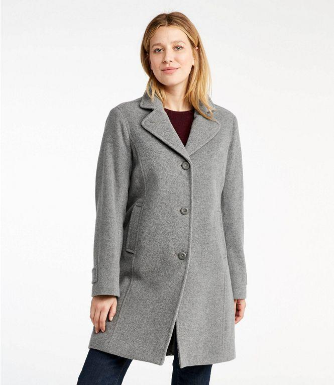 Style meets function with this flattering lightweight coat. (Photo: L.L. Bean)