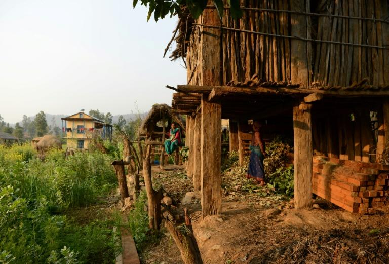 """Many communities in Nepal view menstruating women as impure and in some remote areas they are forced to sleep in a hut away from the home, following a centuries-old tradition known as """"chhaupadi"""""""