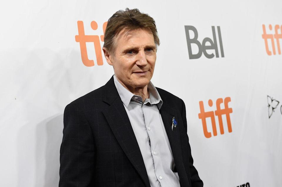 <p>Even in his 60s, Neeson still does some of his own stunts in action movies like <em>Taken</em> and <em>The Commuter</em>.</p>