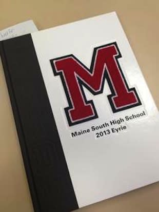 The 2013 Maine South Eyrie briefly featured an athlete exposing himself — Chicago Sun-Times