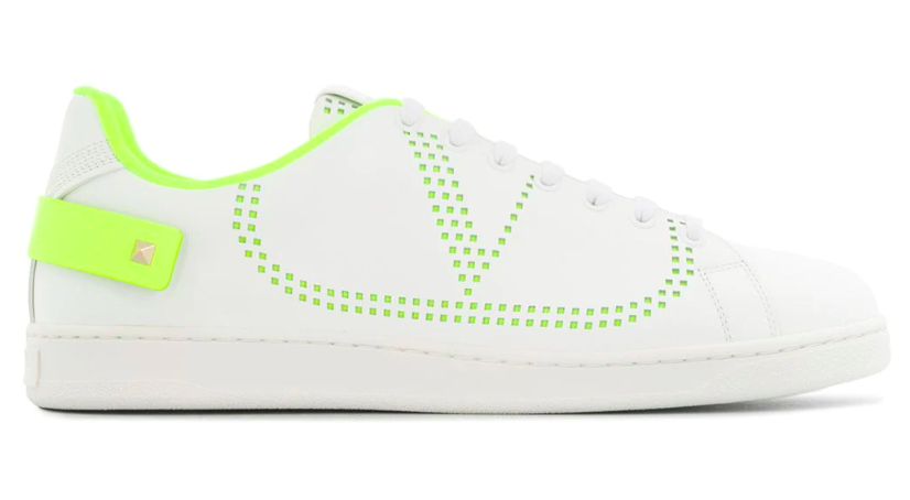 Valentino's Backnet sneakers. - Credit: Courtesy of Farfetch