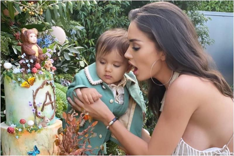 Here's How Amy Jackson Marked Her 'Beautiful Baby Boy's Special Day'