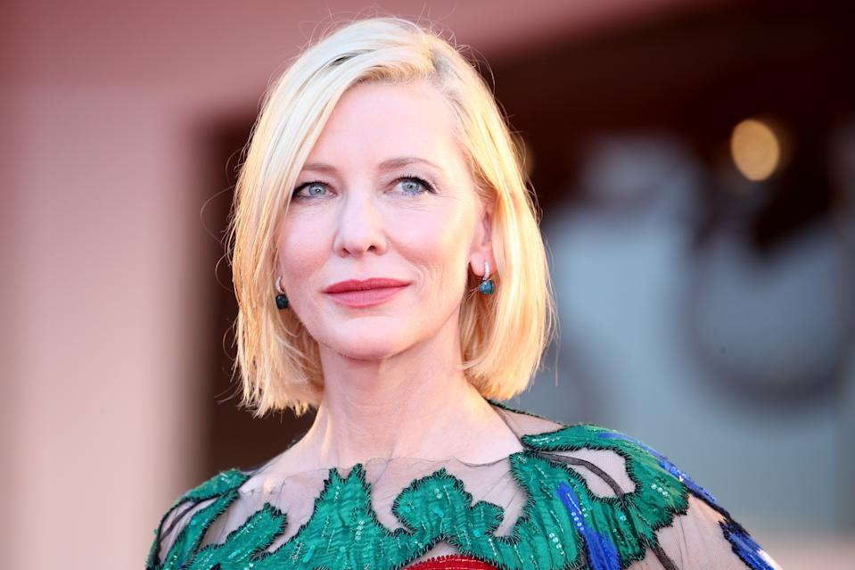 Cate Blanchett. (Photo by Franco Origlia/Getty Images)