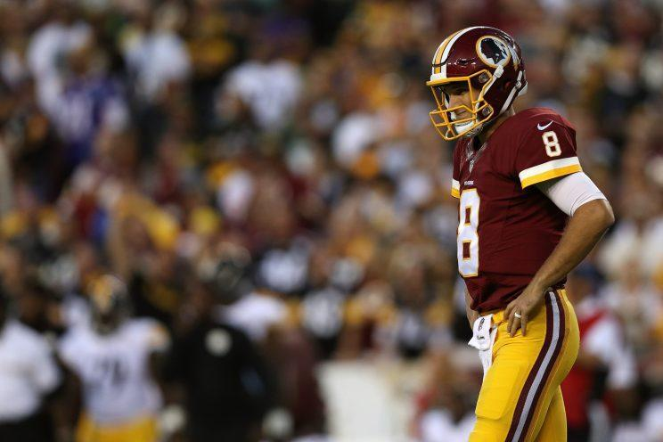 Kirk Cousins is off to a rough 0-2 start. Up next for the Redskins: the Giants. (Getty Images)
