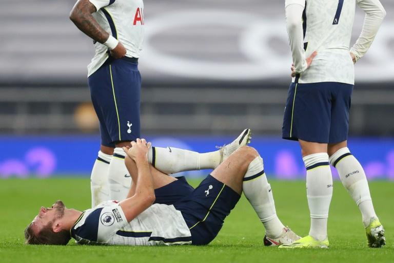 Tottenham lost talismanic striker Harry Kane to injury before half-time