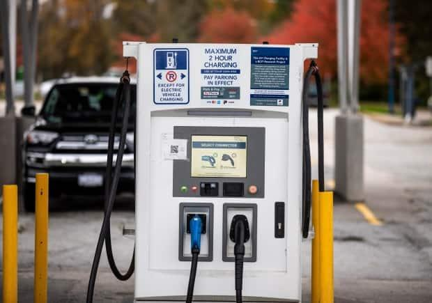 UBC professor Werner Antweiler says public charging stations for electric vehicles are still sparse, driving a need for more drivers to charge their cars at home.