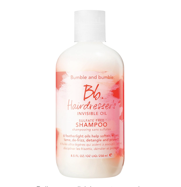"<p><strong>Bumble and bumble</strong></p><p>sephora.com</p><p><strong>$31.00</strong></p><p><a href=""https://go.redirectingat.com?id=74968X1596630&url=https%3A%2F%2Fwww.sephora.com%2Fproduct%2Fhairdresser-s-invisible-oil-shampoo-P386463&sref=https%3A%2F%2Fwww.goodhousekeeping.com%2Fbeauty%2Fhair%2Fg34838457%2Fbest-natural-hair-products%2F"" rel=""nofollow noopener"" target=""_blank"" data-ylk=""slk:Shop Now"" class=""link rapid-noclick-resp"">Shop Now</a></p><p>If you don't know by now, curly hair needs moisture, moisture and more moisture. That's why we love this Bumble and bumble invisible oil shampoo. It's super hydrating and <strong>transforms even the driest, <a href=""https://www.goodhousekeeping.com/beauty/hair/tips/a15884/fix-damaged-hair/"" rel=""nofollow noopener"" target=""_blank"" data-ylk=""slk:most brittle strands"" class=""link rapid-noclick-resp"">most brittle strands</a> with six super lightweight oils minus <a href=""https://www.goodhousekeeping.com/beauty/a39499/greasy-hair-causes/"" rel=""nofollow noopener"" target=""_blank"" data-ylk=""slk:greasy buildup"" class=""link rapid-noclick-resp"">greasy buildup</a></strong>. </p>"