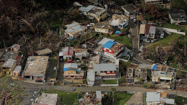 FILE PHOTO: Hurricane Maria in September 2017 would result in the worst natural disaster in the history of Puerto Rico, causing an estimated $90 billion in damage to the already economically struggling U.S. territory. (Lucas Jackson/Reuters, File)