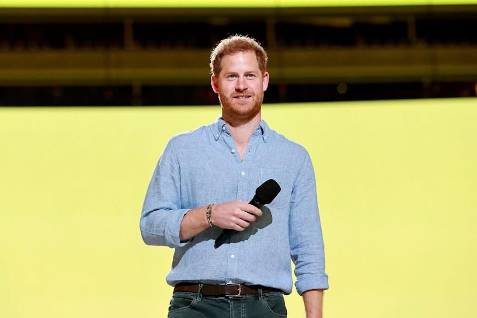 Prince Harry makes a surprise arrival at London charity event at Kew Gardens (Getty Images for Global Citizen)
