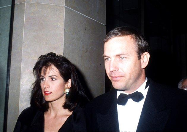 "<b>#9 Kevin Costner and Cindy Silva</b> <br>Actor Kevin Costner married Cindy Silva in 1978, when the two were just a few years out of college and Costner was an unknown aspiring actor. Sixteen years later, life was very different for Costner, who had a resume filled with hits like ""Field of Dreams"" and ""Dances With Wolves,"" and the couple, who were raising three kids together, grew apart. Though their divorce was settled privately, Silva was rumored to have left the marriage with a whopping $80 million. (Barry King/WireImage)"