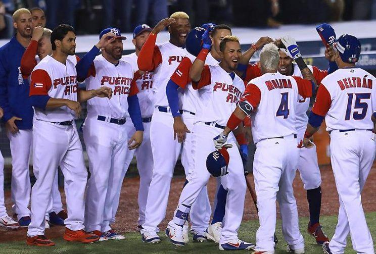 Puerto Rico Makes Statement With Bats And Newly Bleached Hair