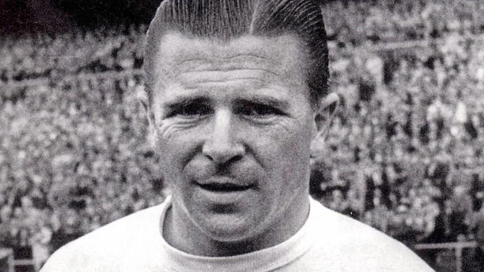 Puskas con la maglia del Real Madrid | STRINGER/Getty Images