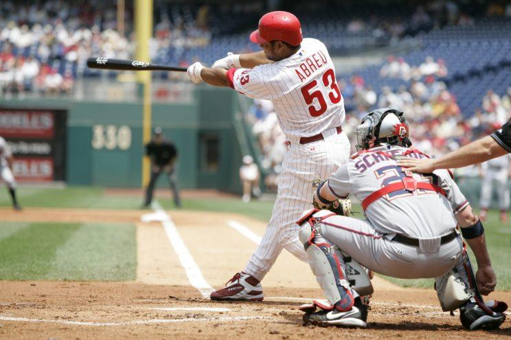 Bobby Abreu saw his production fall off after winning the Home Run Derby. (Getty Images/Rich Pilling)