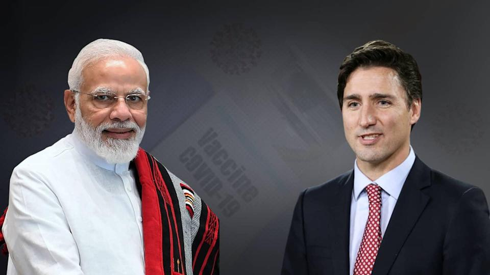 Amid frosty ties, Trudeau dials PM Modi for COVID-19 vaccines