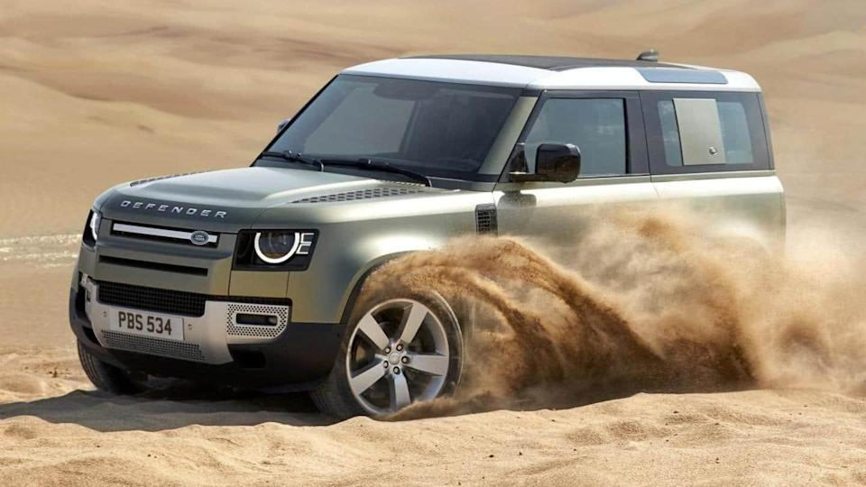 Land Rover Defender (diesel) SUV launched at Rs. 94.36 lakh
