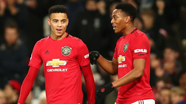 Martial Greenwood Manchester United