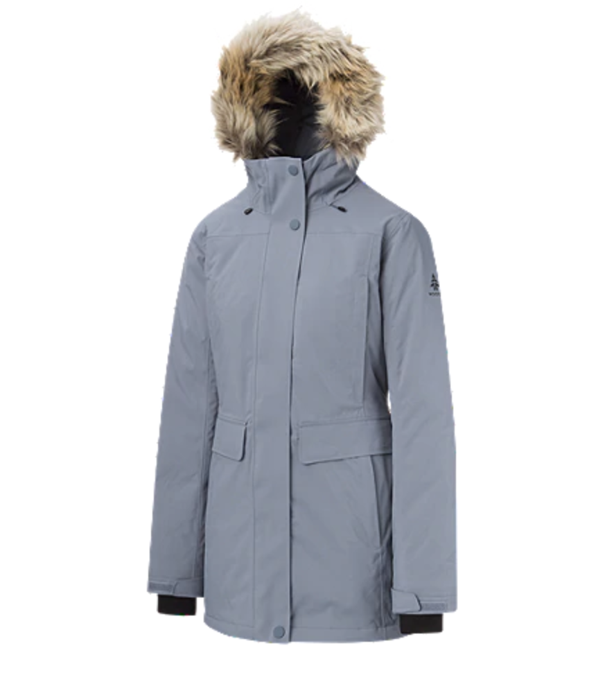 Woods Women's Findlay Down Parka available at Sport Chek.
