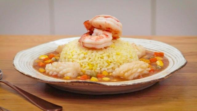Easy seafood mui fan with frozen mixed vegetables del monte mixed vegetables