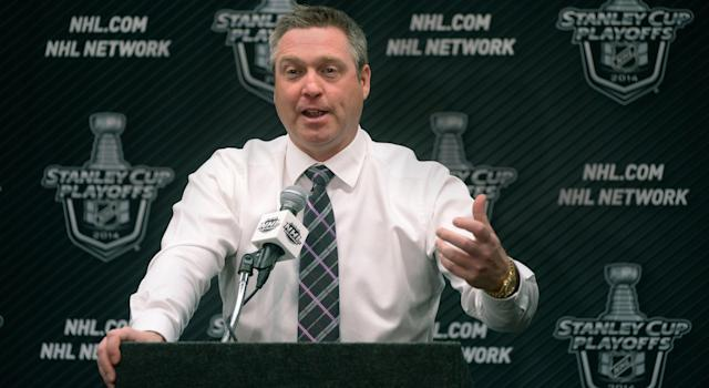 Patrick Roy is reportedly being interviewed for the Ottawa Senators coaching position