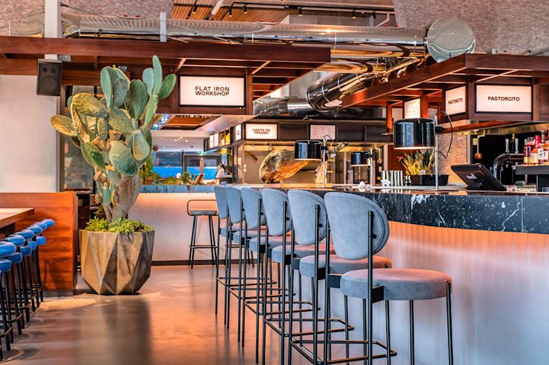Take your pick: The bar area at Arcade Food Theatre (Paul Winch-Furness - Photographe)