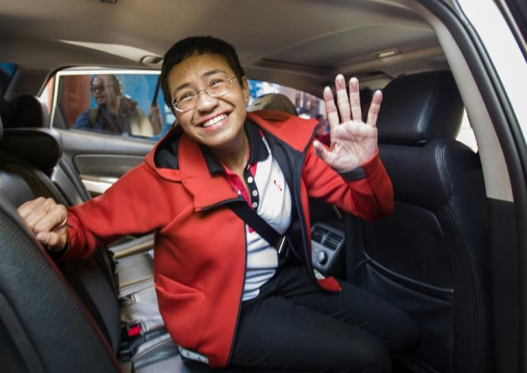 USA urges Philippines to let Maria Ressa 'operate freely'