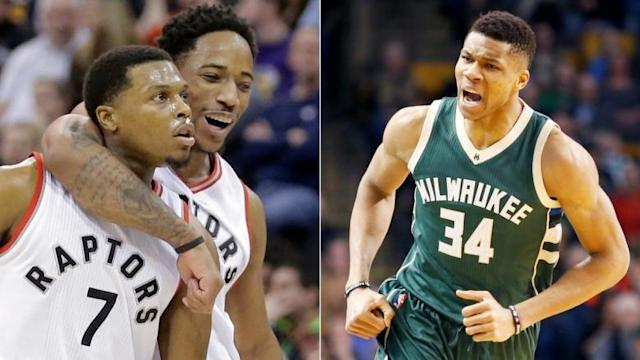 Raptors will play Milwaukee Bucks in 1st round of NBA playoffs